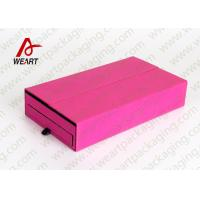 China Colored Cosmetic Paper Box Fabric Cardboard Cosmetic Packaging Customized Size wholesale