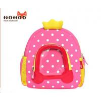 China Preschool Student School Bags Neoprene Comfortable Customized wholesale