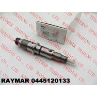 Buy cheap BOSCH Genuine common rail fuel injector assy 0445120038, 0445120133 for Cummins QSL 3965749, 4945463, 4993482 from wholesalers