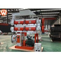 China Chicken Bird Pellet Production Plant With Double Shaft Paddle Mixer Stable wholesale