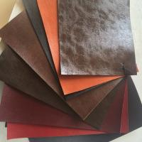 China Recycled Real Full Grain Cow Leather Fabric Abrasion Resistant More Than 50000 Times wholesale