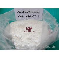 China Medical Oral Bodybuilding Steroids , Safest Anadrol Anabolic Steroid CAS 434-07-1 wholesale