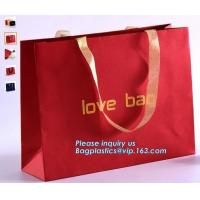 """China Luxury Carrier Bags,Custom pattern luxury printing carrier bag with handle,Gift Bags 8x4.75x10.5"""" - 25pcs Bag Dream wholesale"""