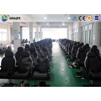 China Dynamic 5D Movie System With 10 Special Effect Simulations And Movement Seats wholesale