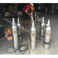 Landscape Stainless Steel Water Pump , City Square Centrifugal Pond Pump 13m