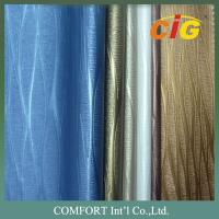 China 0.6mm - 1.2mm PVC Leather Colorful Many Different Design For Upholstery Fabric wholesale