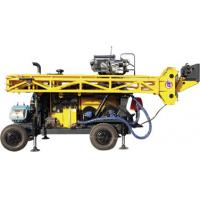 China HWL Drilling Depth 1000m  Wheel Trailer Hydraulic Core Drilling Machine wholesale