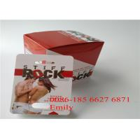 China Private Labels Blister Card Packaging , Rhino Pill Plastic Blister Packaging wholesale