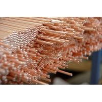 China Copper Coated Compressor Tubes , Double Wall Weld Pipes 3.6 * 0.5 mm For Refrigeration System wholesale