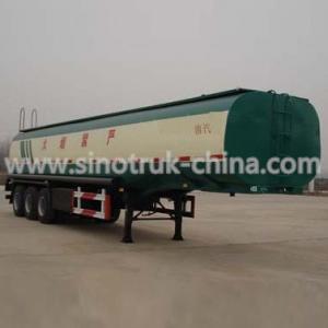 China ABS Optional Heavy Duty Semi Trailers / Oil Tanker Semi Trailer 25 Tons Landing Gear wholesale