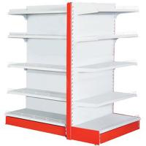 China Four Levels Supermarket Display Racks 120 - 150kg / Layer Loading Capacity wholesale