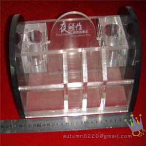 China transparency acrylic storage box wholesale