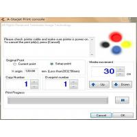 China 4 Color Photoprint Rip Inkjet Printer Software/ IPrint Console DX7 wholesale
