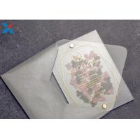 China Romantic Acrylic Gifts Size Customized Acrylic Wedding Card OEM / ODM Available wholesale