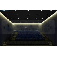 China Flat Silver Metal Screen 4d Theater System With Vibration Chair wholesale