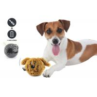 China Small Bouncy Dog Entertainment Toys , Cool Plastic Dog Throw Toys For Dog Playing wholesale