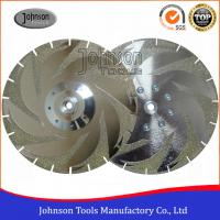 Double Maple Leaves Electroplated diamond tools For Marble Cutting EP Disc 08-2