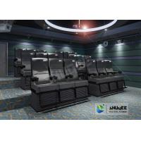 China Exciting Simulation 4D Motion Seat Movie Theater With 1 Year Warranty wholesale