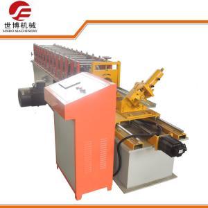China 0.3 - 0.8 Mm C Type Stud Roll Forming Machine , Sheet Metal Forming Machine wholesale