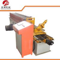 China 0.3 - 0.8 Mm Steel Stud Roll Forming Machine SB-90 For Construction Bracket wholesale