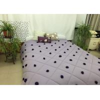 China 100% Cotton Down Alternative Comforter Queen Rhombus Quilting For Home wholesale