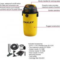 China Wet/Dry VAC SL18139p 4.5gallon/17L 4HP Hang up Stanley  wet and dry vacuum cleaner for home on sale