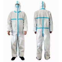 Buy cheap Medical/normal Gown with PP+PE for protective from wholesalers
