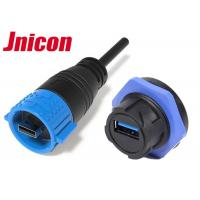 China Micro Circular USB Connector Plug And Socket For Signal Transmission Equipment wholesale