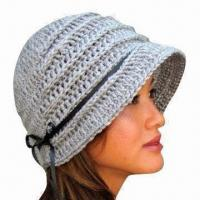 China Hand Crochet Hat for Women, Handmade, OEM Orders are Welcome wholesale