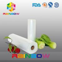 China Textured Food Vacuum Saver Roll Embossed Vacuum Sealer Bag , Full Mesh Vacuum Bags wholesale