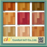 China Wood Grain Artos PVC Floor Covering , Waterproof Oilproof PVC Sports Flooring wholesale