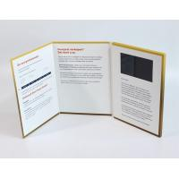 China A4 Size Portrait Lcd Video Greeting Card , Full Colors Video Brochure For Christmas wholesale