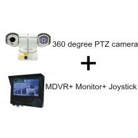 Quality High Speed 100M IR Distance Car PTZ Camera With 3G GPS MDVR Monitor Joystick for sale