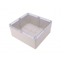 China Electronic Project 300*280*140mm Clear Lid Enclosures wholesale