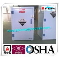 China White Chemical Hazardous Storage Cupboards For Storing Strongly Corrosive Materials wholesale