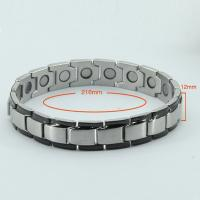 China Black Adjustable Length Bracelet Magnetic for Party,Vacuum Plated wholesale
