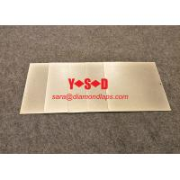 [6 inch / 150mm* #240 Grit ]Square shaped Electroplated diamond Lapping Plate  for glass lapidary jade abrasive