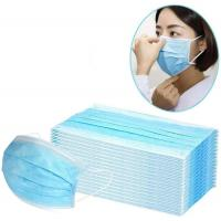 China 3 Ply Disposable Face Mask 25gsm PP Non Woven Material For Food Processing wholesale