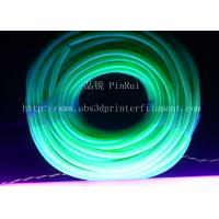 Quality Fluorescence PVC Plastic Flexible Hose Blue / Green For Automobiles , Computers , Lighting for sale