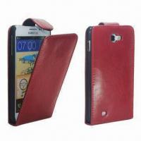 China Leather Phone Cover, Customized Logos are Welcome, Various Colors are Available, Packed in Gift Box wholesale