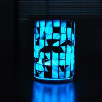 China For size 90 x 130mm attractive and unique handmade LED lights. wholesale