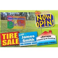China Outdoors Corrugated Plastic Sheets / Corrugated Plastic Yard Signs Full Color wholesale