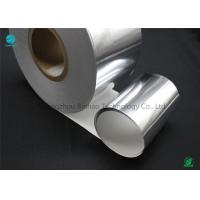 China Silver Moisture - Proof Aluminium Foil Paper With White Backing Base Paper For Premium Cigarette Packaging wholesale