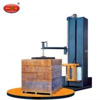 China Pallet Shrink Wrap Machine XT4502 Automatic Stretch Film Pallet Wrapping Machine on sale