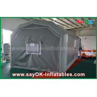 China 10 x 5m Gray Custom Inflatable Products PVC Inflatable Spray Booth For Car Spraying wholesale