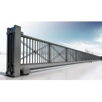 China Motorized Automatic Iron Cantilever Sliding Gate With Remote For Industrial wholesale