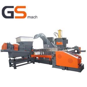China Low Noise Twin & Single Screw Extruder Granulation Machine HFFR Production Line wholesale