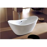 China cUPC freestanding antique bathtub seamless joint finish oval acrylic tub for USA Canada wholesale