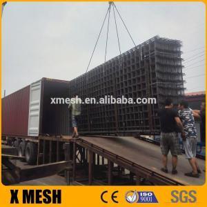 China Concrete Reinforcement Welded Mesh Panel Square Hole Shape 150 X 150 Mm Size wholesale