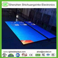 China High Resolution LED DJ Dance Floor Display With Meanwell Power Supply , 15625 Nits Density wholesale